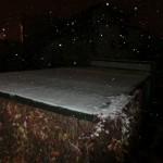 Schnee - etwas später