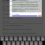 Suche in Chrome für Android